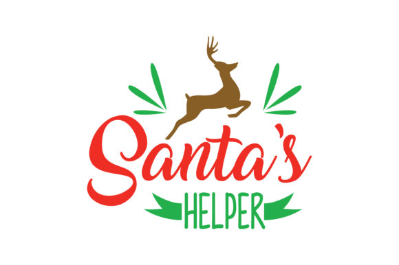 Download Free Santa S Helper Graphic By Thelucky Creative Fabrica for Cricut Explore, Silhouette and other cutting machines.