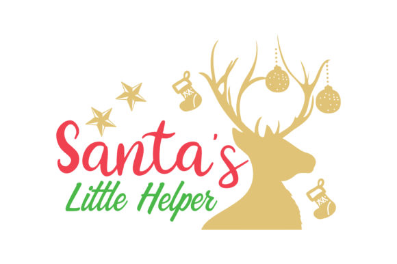Download Free Santa S Little Helper Svg Cut Graphic By Thelucky Creative Fabrica for Cricut Explore, Silhouette and other cutting machines.