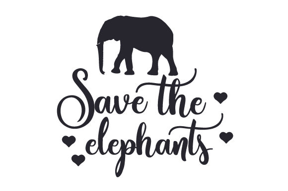 Download Free Save The Elephants Svg Cut File By Creative Fabrica Crafts Creative Fabrica for Cricut Explore, Silhouette and other cutting machines.