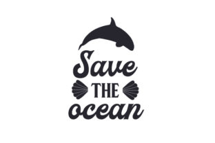 Save the Ocean Craft Design By Creative Fabrica Crafts
