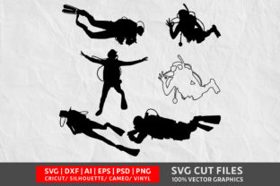 Scuba Diving SVG Graphic By Design Palace