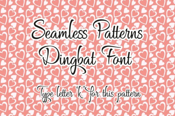 Seamless Patterns Font By Eva Barabasne Olasz Image 2
