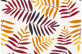 Download Free Seamless Autumn Leaves Pattern Grafico Por Iop Micro Creative for Cricut Explore, Silhouette and other cutting machines.