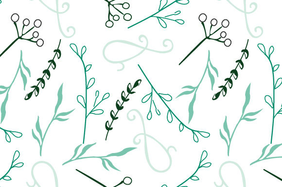Print on Demand: Seamless Floral Pattern Grafik Muster von iop_micro