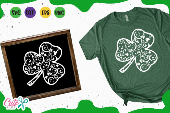 Shamrock Svg Graphic Illustrations By Cute files