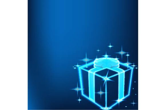 Download Free Shine Gift Box Technology Background Graphic By Ojosujono96 for Cricut Explore, Silhouette and other cutting machines.
