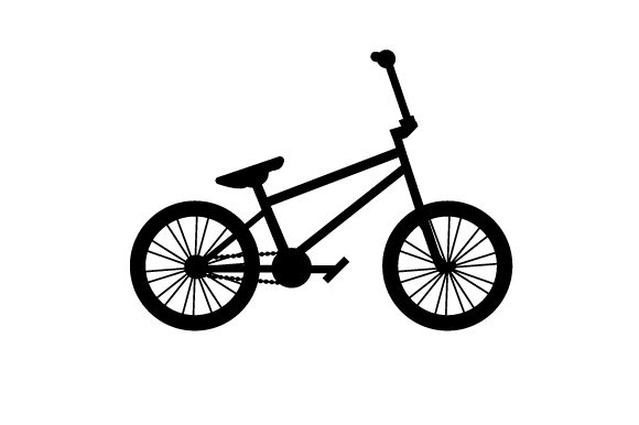 Download Free Silhouette Of A Bmx Bike Svg Cut File By Creative Fabrica Crafts for Cricut Explore, Silhouette and other cutting machines.