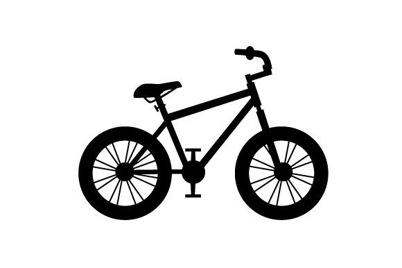 Download Free Silhouette Of A Mountain Bike Svg Cut File By Creative Fabrica for Cricut Explore, Silhouette and other cutting machines.