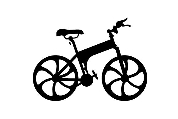 Download Free Silhouette Of A Mountain Bike Archivos De Corte Svg Por Creative for Cricut Explore, Silhouette and other cutting machines.