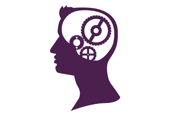 Download Free Silhouette Of A Person S Profile And Where The Brain Is There Are for Cricut Explore, Silhouette and other cutting machines.