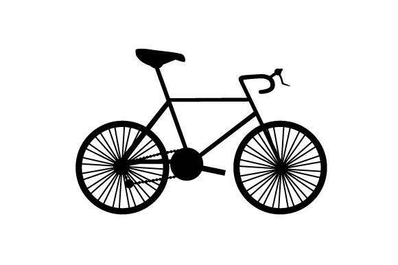 Download Free Silhouette Of A Road Bike Svg Cut File By Creative Fabrica Crafts for Cricut Explore, Silhouette and other cutting machines.