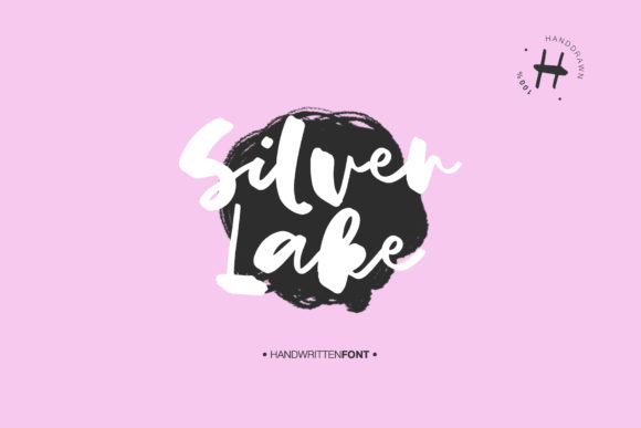 Print on Demand: Silver Lake Script Script & Handwritten Font By Dmitrii Chirkov