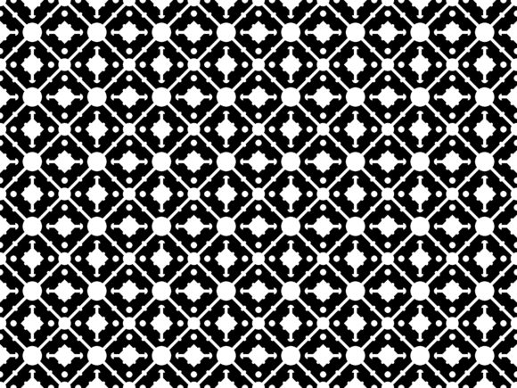Simple Square Round Pattern Graphic Patterns By asesidea