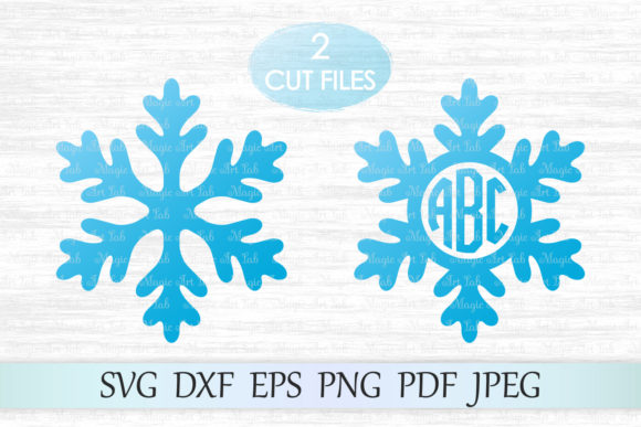 Download Free Snowflake Graphic By Magicartlab Creative Fabrica for Cricut Explore, Silhouette and other cutting machines.