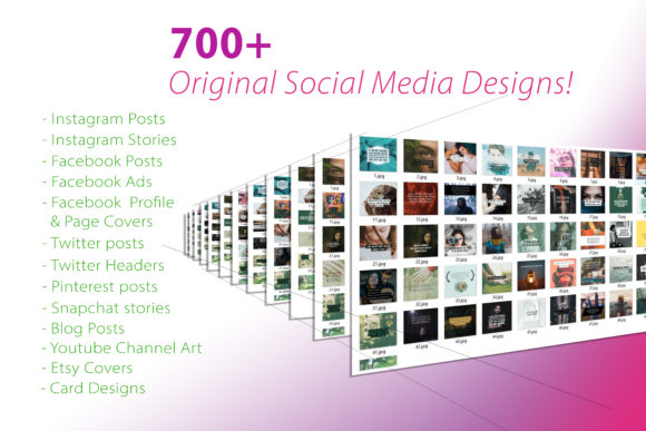 Social Media Platforms Posts Pack Graphic Graphic Templates By NinaGrateful