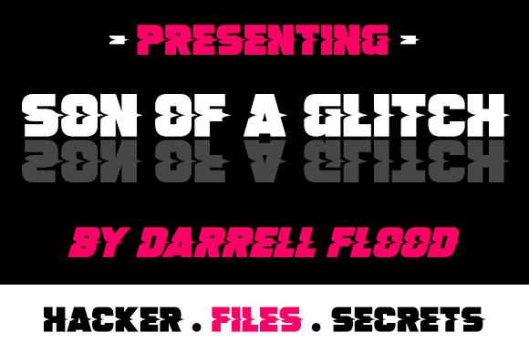 Print on Demand: Son of a Glitch Decorative Font By Dadiomouse