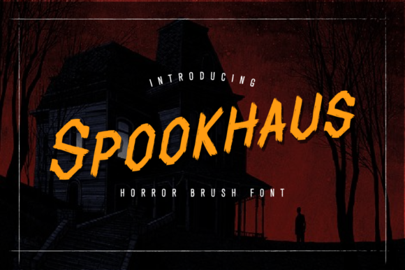 Print on Demand: Spookhaus Script & Handwritten Font By VonTypeCo