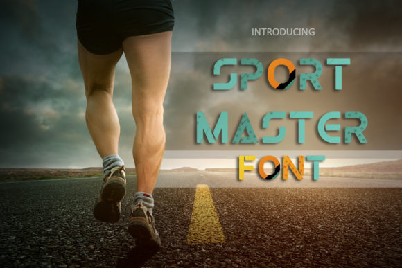 Print on Demand: Sport Master Color Fonts Font By Eldamar Studio Fonts