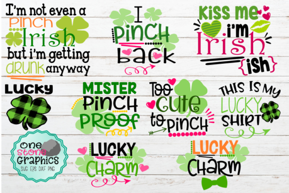 St. Patrick's Day Bundle Gráfico Crafts Por OneStoneGraphics