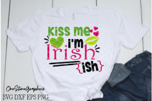 St Paddy's Day, Kiss Me I'm Irish Graphic Crafts By OneStoneGraphics