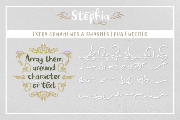 Print on Demand: Stephia Script & Handwritten Font By Rifki (7ntypes) - Image 2