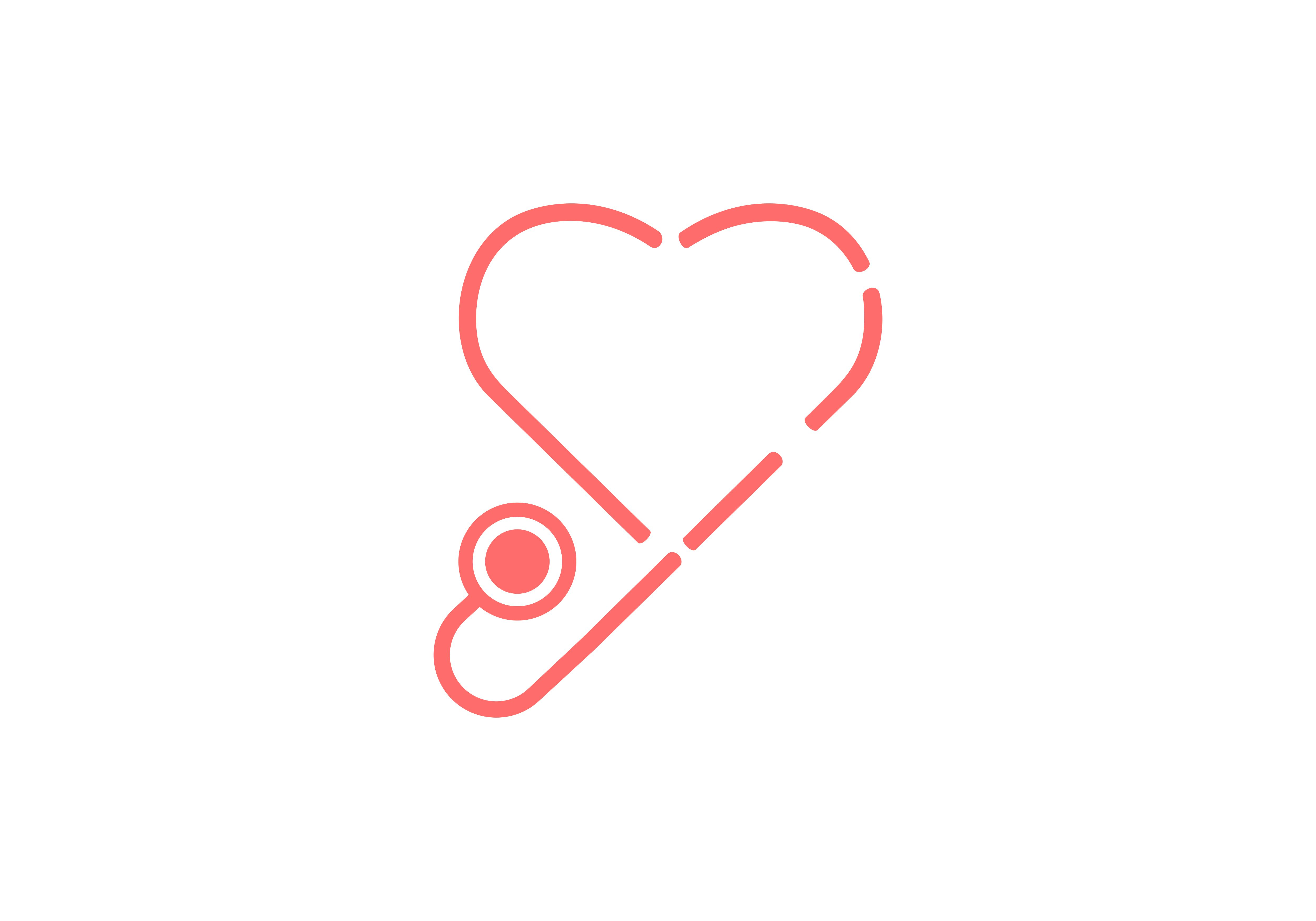 Download Free Stethoscope Heart Medical Logo Graphic By Deemka Studio for Cricut Explore, Silhouette and other cutting machines.