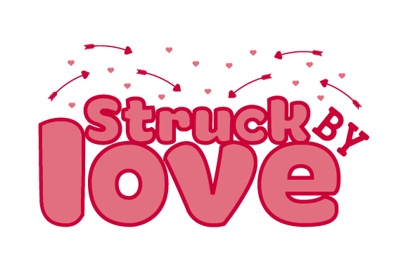 Download Free Struck By Love Svg Cut File By Creative Fabrica Crafts for Cricut Explore, Silhouette and other cutting machines.