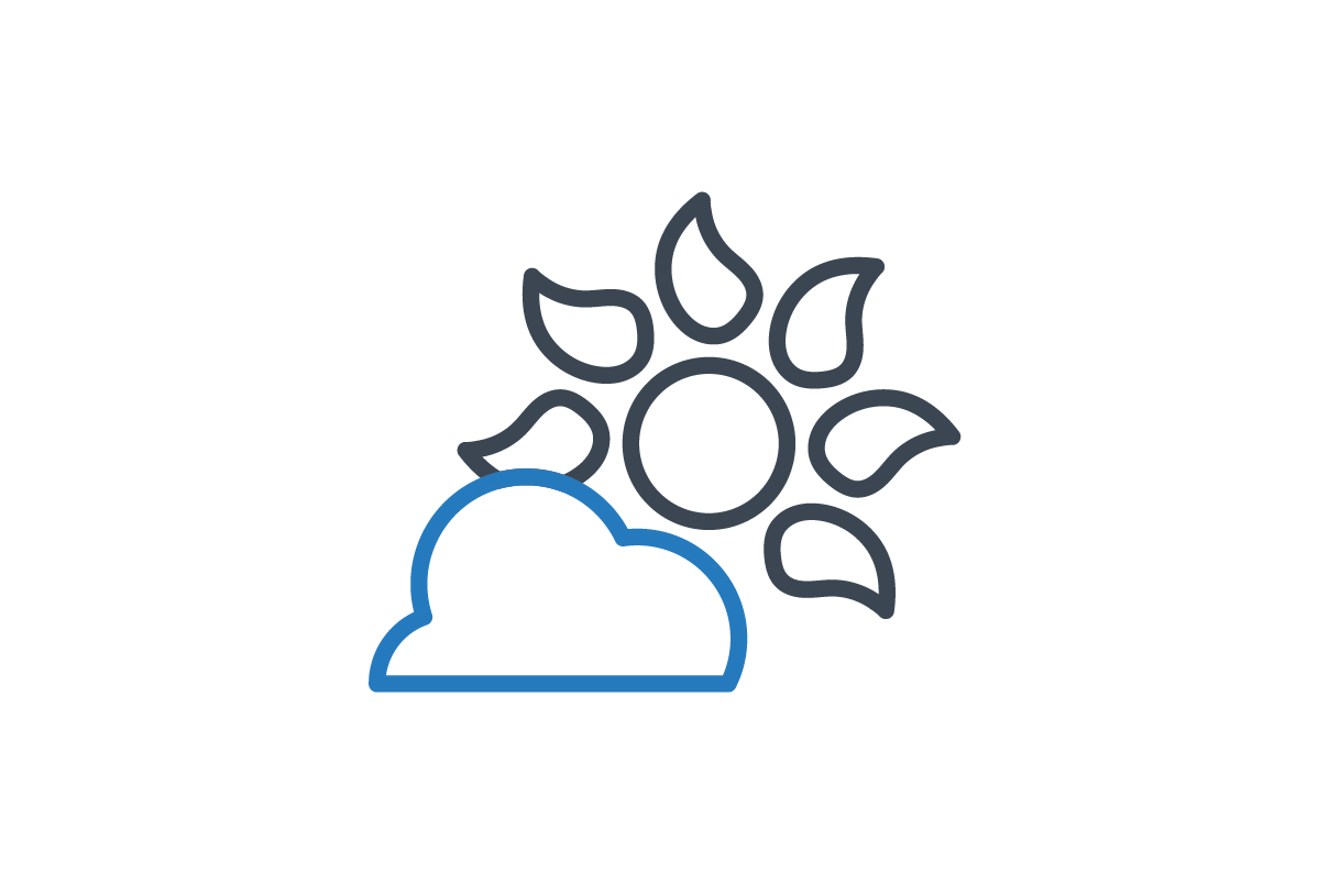 Download Free Sun Icon Graphic By Rudezstudio Creative Fabrica for Cricut Explore, Silhouette and other cutting machines.