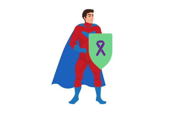 Download Free Fibromyalgia Man Superhero Svg Cut File By Creative Fabrica for Cricut Explore, Silhouette and other cutting machines.