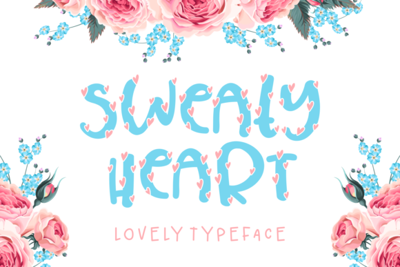 Print on Demand: Sweaty Heart Script & Handwritten Font By Keithzo (7NTypes)