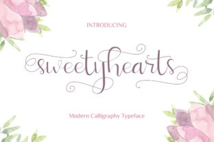 Sweetyhearts Font By putracetol