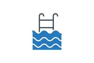 Download Free Swimming Icon Graphic By Rudezstudio Creative Fabrica for Cricut Explore, Silhouette and other cutting machines.