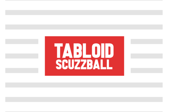 Print on Demand: Tabloid Scuzzball Sans Serif Font By Chequered Ink