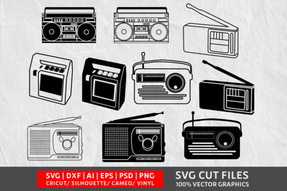 Tape Recorder Graphic Crafts By Design Palace
