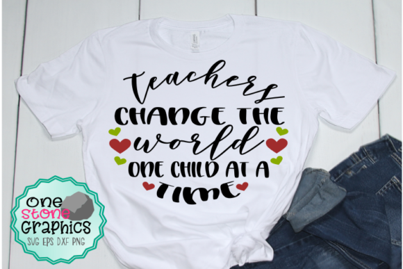 Teacher Svg Graphic Crafts By OneStoneGraphics