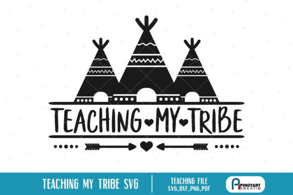 Download Free Teaching My Tribe Graphic By Pinoyartkreatib Creative Fabrica for Cricut Explore, Silhouette and other cutting machines.