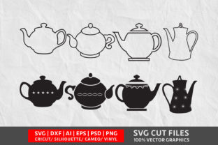 Teapot  SVG Graphic By Design Palace