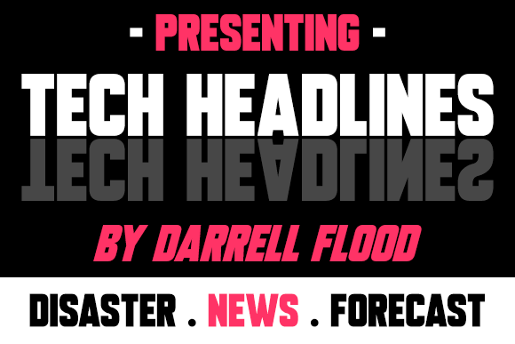 Print on Demand: Tech Headlines Sans Serif Font By Dadiomouse