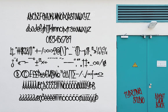 Print on Demand: The Brandalins Display Font By Typeting Studio - Image 4