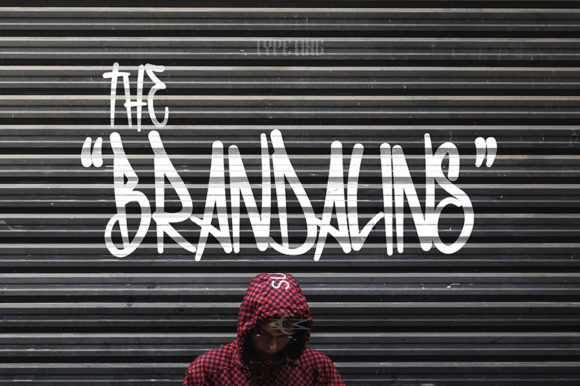 Print on Demand: The Brandalins Display Font By Typeting Studio