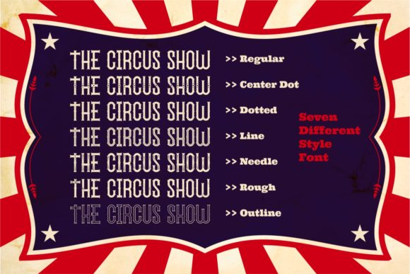 The Circus Show Family Font By putracetol Image 2