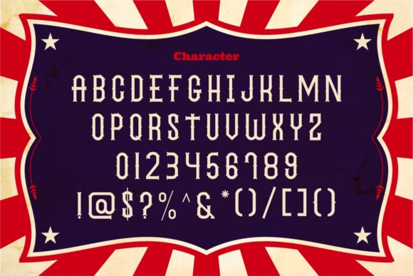 The Circus Show Family Font By putracetol Image 3