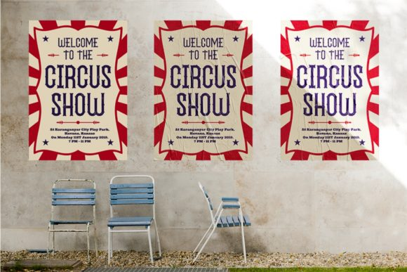 The Circus Show Family Font By putracetol Image 4