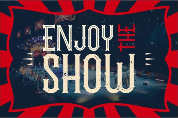 The Circus Show Family Font By putracetol Image 6