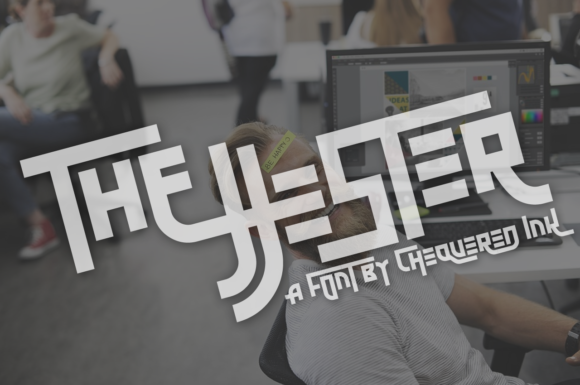 Print on Demand: The Jjester Display Font By Chequered Ink - Image 1