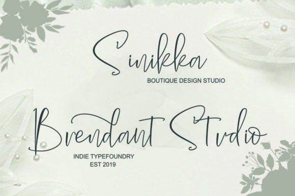Print on Demand: The Solmate Script Script & Handwritten Font By luckytype.font - Image 2