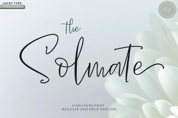 Print on Demand: The Solmate Script Script & Handwritten Font By luckytype.font
