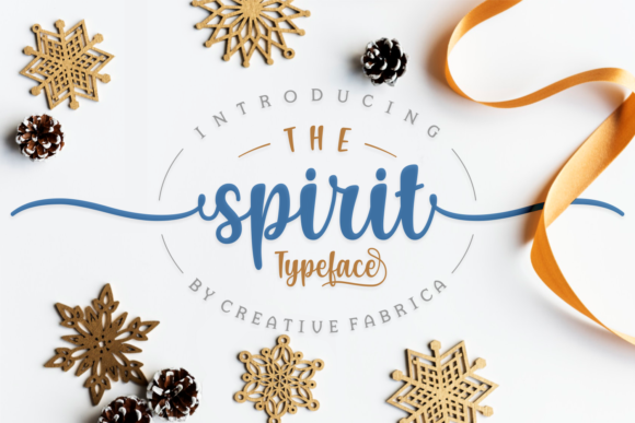 Print on Demand: The Spirit Script & Handwritten Font By Creative Fabrica Fonts