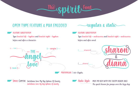 Print on Demand: The Spirit Script & Handwritten Font By Creative Fabrica Fonts - Image 3