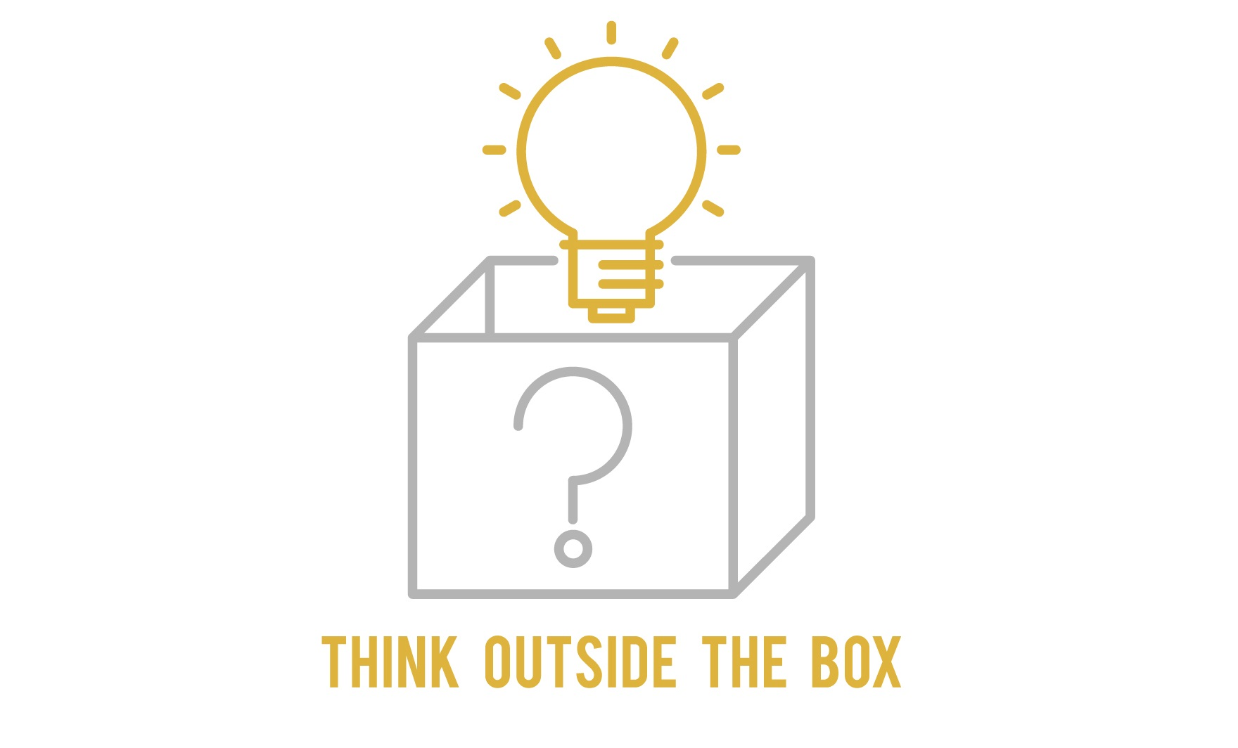 Download Free Think Outside The Box Icon Graphic By Back1design1 Creative for Cricut Explore, Silhouette and other cutting machines.